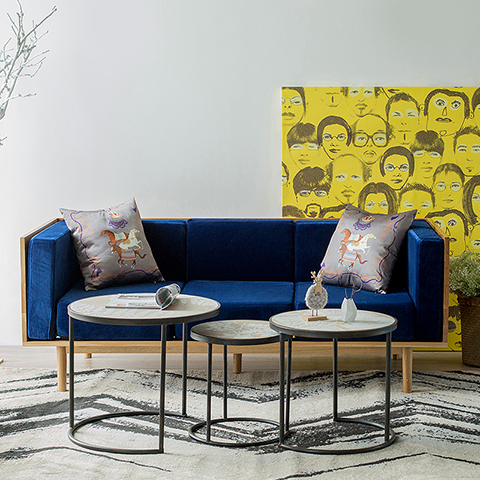 sencilla-de-estilo-moderno-minimalista-loft-industrial-hierro-sofa-de-madera-mesa-de-centro-redonda-mesa